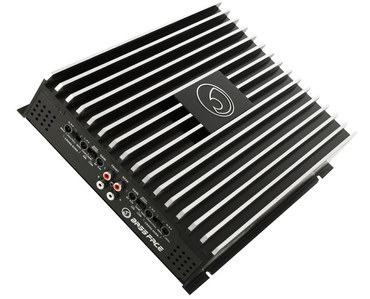 Bass Boost Car 4 Channel Amp In Black