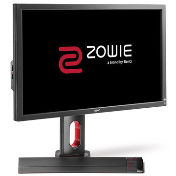 Monitor On Black Stand