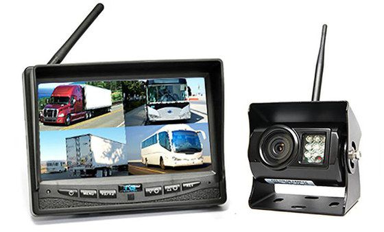 Wireless Black Backup Camera