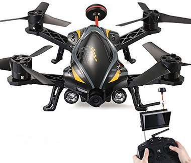 Mini Quadcopter With Camera With Black RC Device