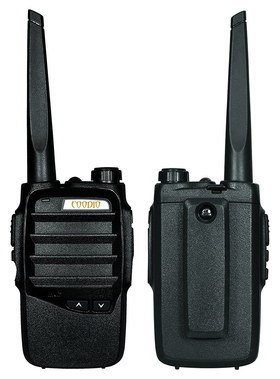 Rechargeable Walkie Talkies In All Black