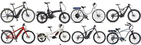 8 Colourful E Bikes