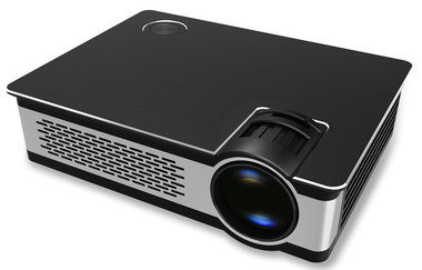 Bright Mini Portable Projector In All Black