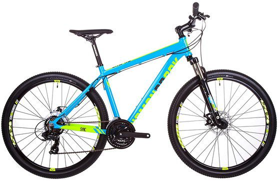 Light MTB With Light Blue Frame