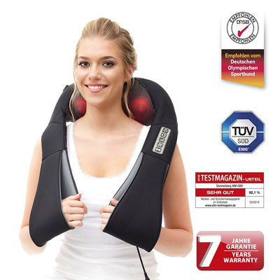 Car Back Massager With Straps