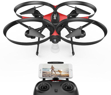 Drone For Filming With HD Cam And 2 Joystick Controls