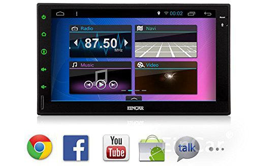 Touch Screen Car Stereo On Musuc Screen