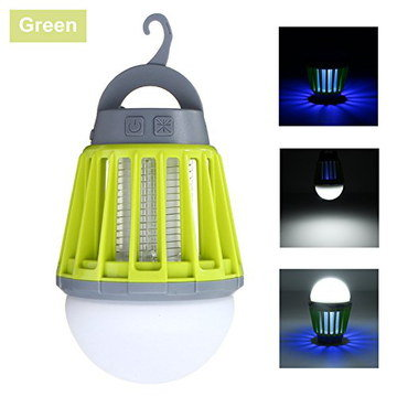Mini Camping Lantern With Green Exterior
