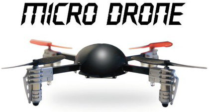 Micro Drone With Camera In Black Casing