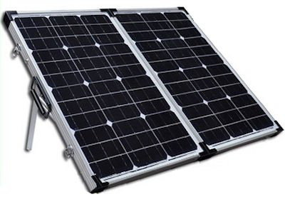 Heavy Duty 100W Solar Panel With Steel Stand