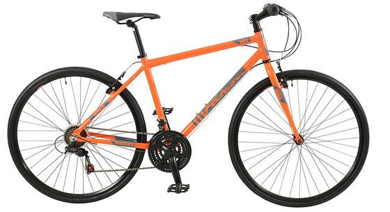 Mountain Bike With Orange Finish