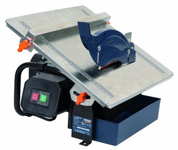 Tile Cutter Machine With Blue Blade Safety