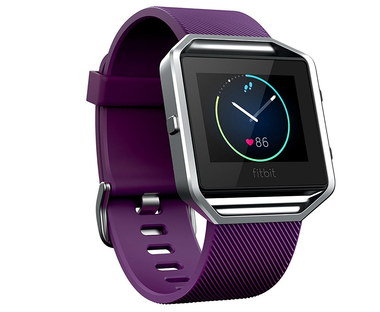 PurePulse Heart Rate Monitor Watch In Plum Finish