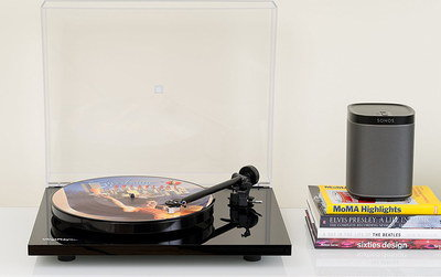 SONOS Streaming Vinyl Turntable In All Black