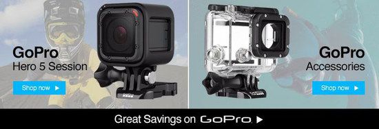 Black GoPro HERO Camera