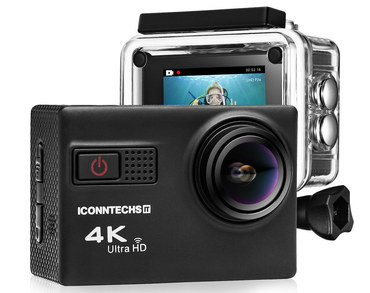 4k Value Sports Camera With Black Exterior