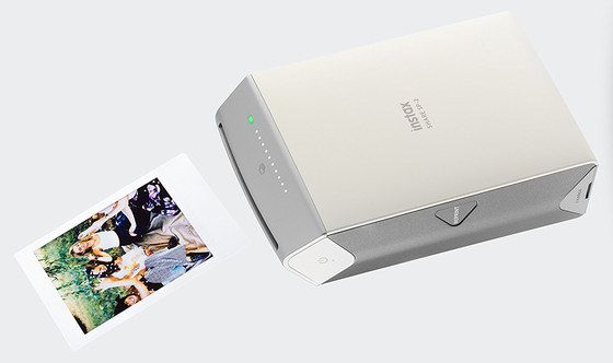 Smartphone Photo Printer In Silver Finish