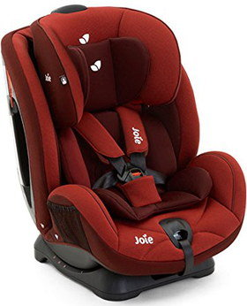 Group 1 Rear Facing Car Seat In Red