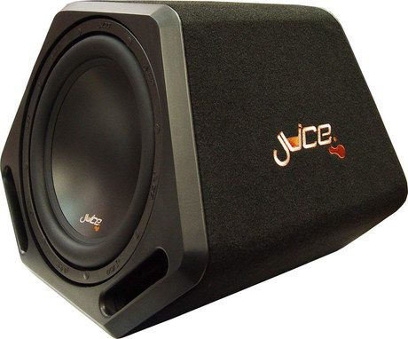 Active Subwoofer In Black Case