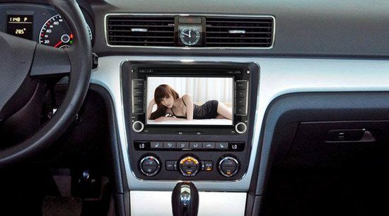 2 DIN GPS Car Stereo With Photo