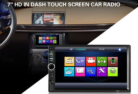 Car Touch Screen Stereo With Big Display