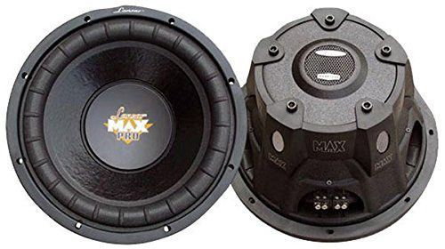 Small Car Subwoofer Back Front View