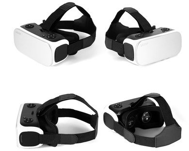 VR Headset For PC In Black And White Finish