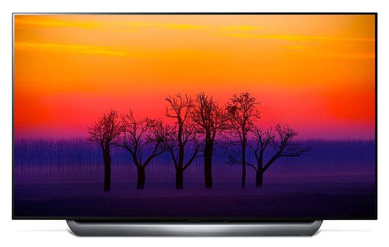 HDR OLED TV With Thin Base