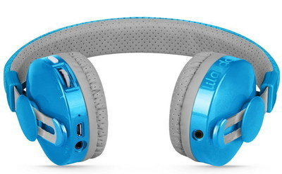 Wireless Headphones For Toddlers In Grey And Light Blue