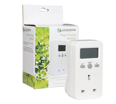Electricity Bill Monitor In All White