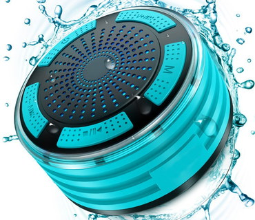 Water Resistant Speaker In Circular Shape