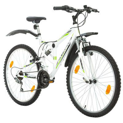 26 Inch Mountain Bike In White