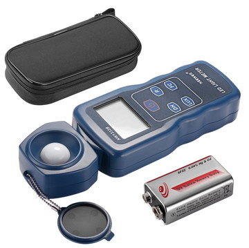 Exposure Meter Photometer With Battery And Case