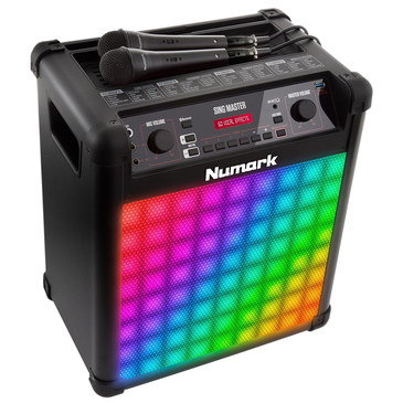 Speaker Karaoke System With Disco Lights
