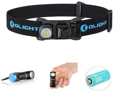 Head Torch For Running With Blue Battery