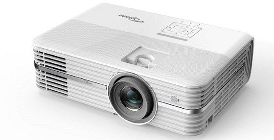White Finished 4K UHD Projector