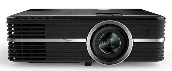 4K DLP Projector In Black And Silver Stripe