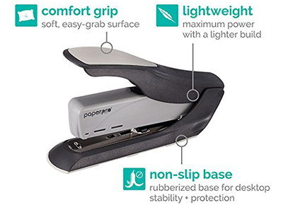 Hand Held Staple Gun With Rubber Base