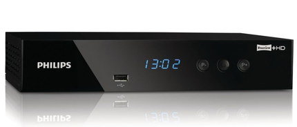 HD Freeview Recorder In Black With LCD
