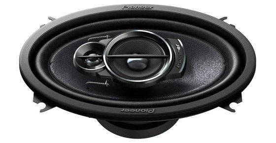 Coaxial Car Speaker With Black Logo