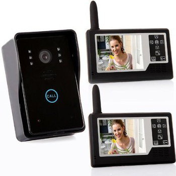 Wireless Door Surveillance Camera With Rain Cover