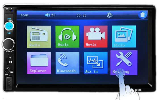 LCD Screen Car Stereo With PHOTO Displaying
