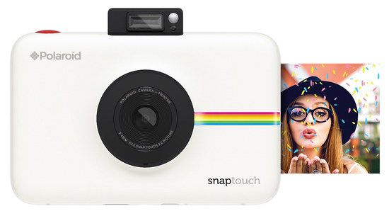 Instant Print Camera With White Exterior