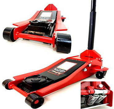 2.5t Trolley Jack For Sale In Black And Red