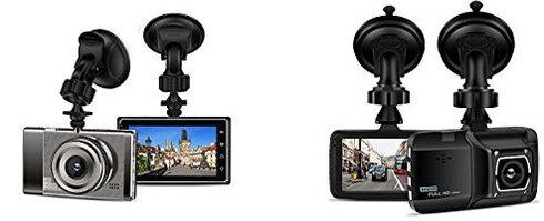 Wide Screen Dashboard Cam With Parking