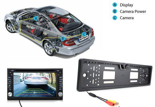 Reverse Camera Showing Big Display