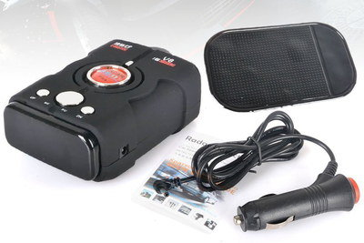 Wide Radar Speed Detector For Cars With Black Case
