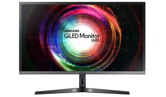 UHD LED Monitor With Grey Prame
