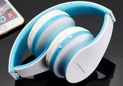 Hands-Free Chat Headphones For Children With White Band