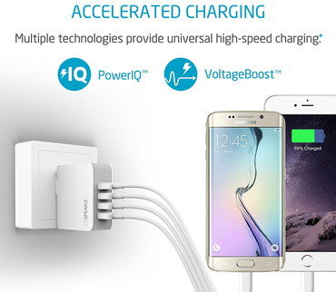 Smart USB Power Socket Linked To Smartphone